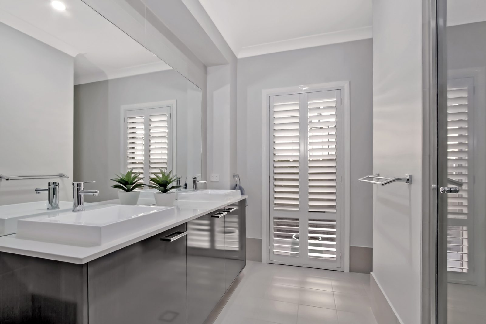 Why You Should Team Your Plantation Shutters With Curtains Modern