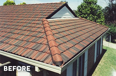 Before Modern Roof Restoration