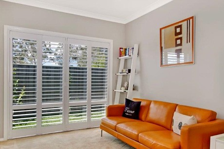 Plantation shutters for lounge rooms
