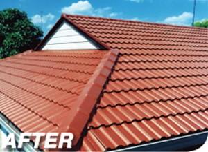 After Modern Sydney Roof Restoration